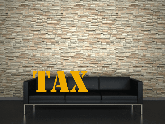 Tax On Couch - Image
